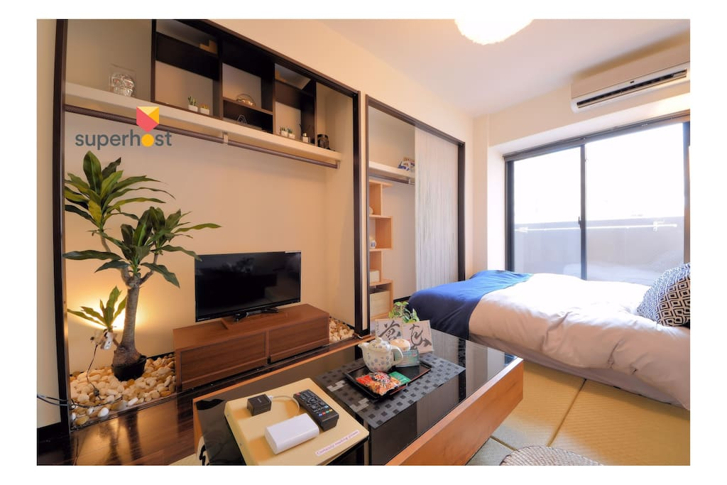 TATAMI ROOM DOUBLE BED