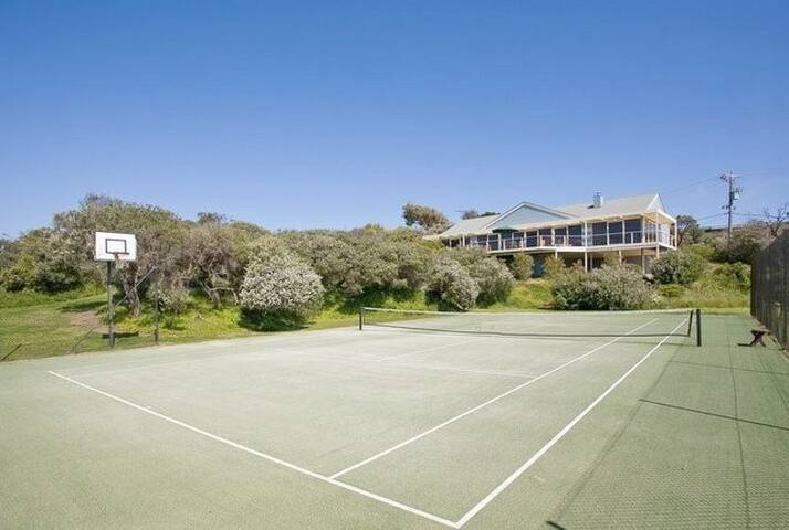 Portsea, Bass Road Tennis