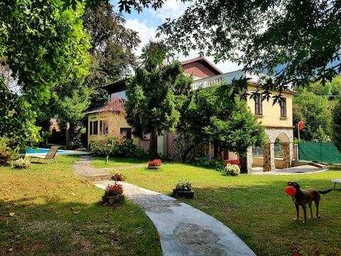 Villa Cesarina, Vallio Terme, Salo'( Camera Blu)