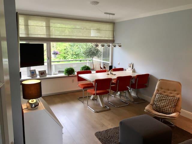 Luxe appartement in park tussen zee, natuur & stad - Wassenaar - Apartament