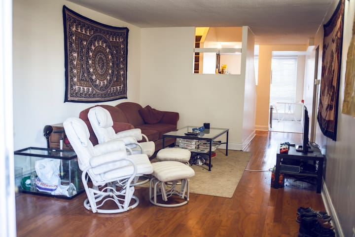 Single Room with private bathroom - Nueva York - Departamento