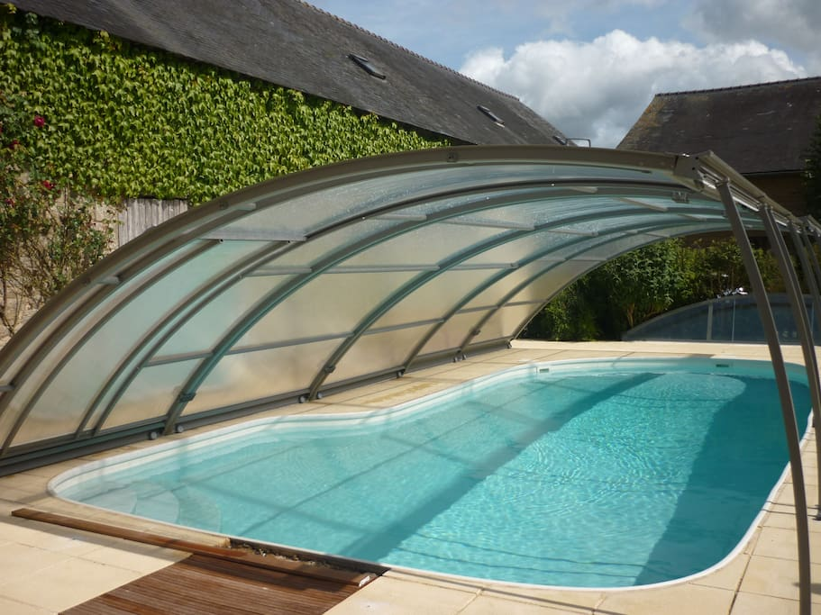 La piscine est à votre disposition