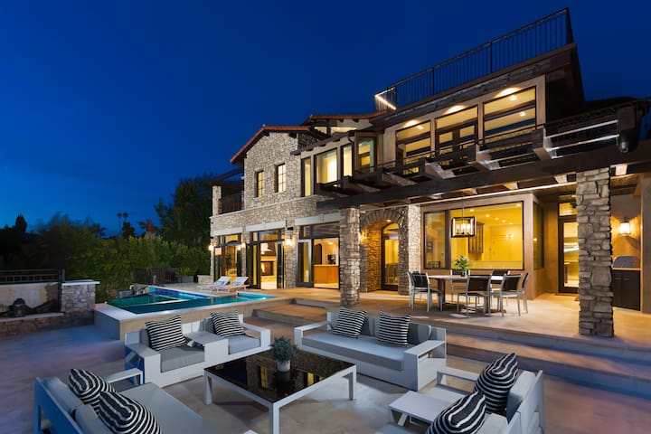 Contemporary Stone Mansion home 8500 sq ft!