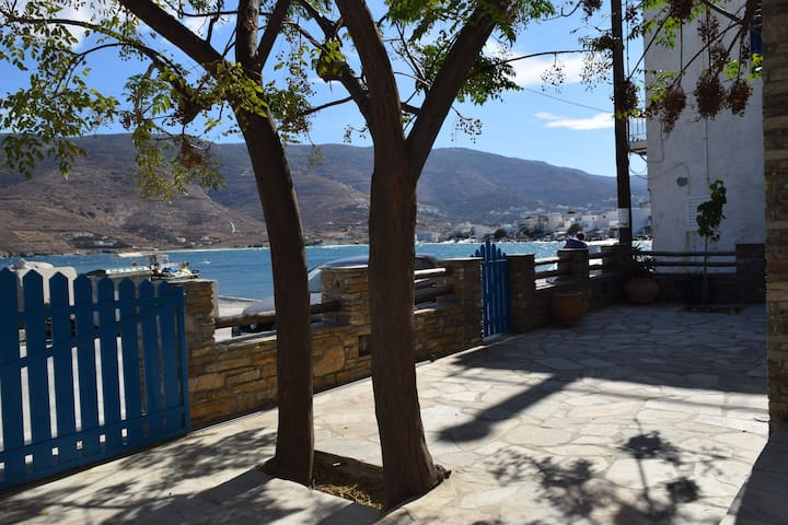 Clio's Beach House  -  Beach front property - Andros