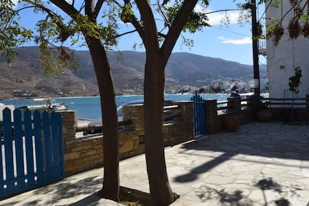 Clio's Beach House  -  Beach front property - Andros - Pension