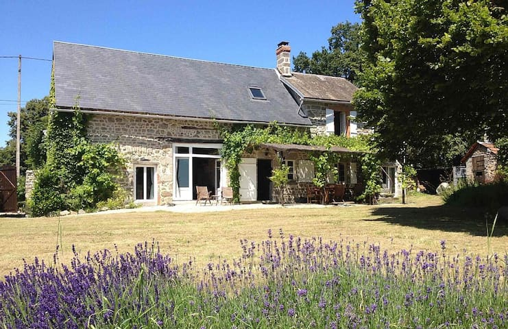 Beautiful 17th Century Farmhouse - Rougnat - House