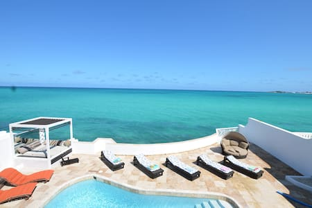 Caribbean 7 Oceanfront, private Pool, Gated Community *