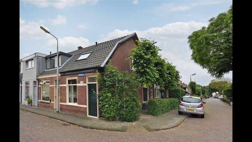 "Historische woning 1902 ""cozy house 1902"" - Santpoort-Noord - Casa"