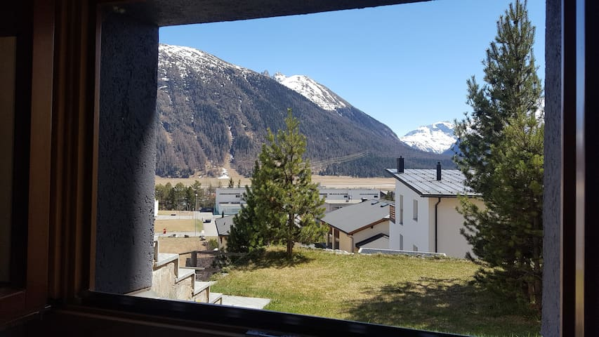 Studio of 25m2 in Engadine style - Samedan - Apartment