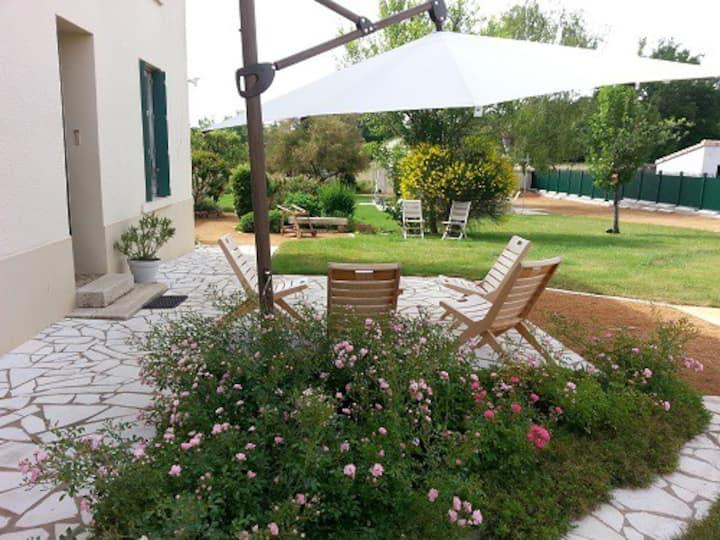 Maison de famille avec jardin à 10' du Puy du Fou