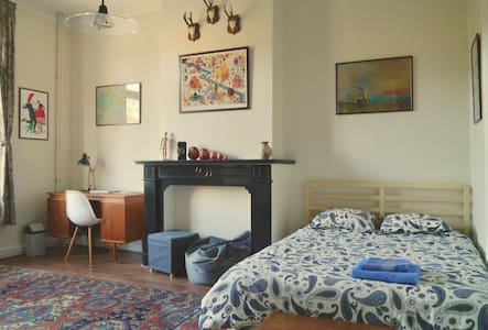 Retro Apartment / 15 min. from the center - Forest - Talo