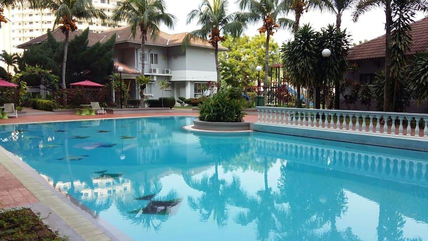 Casa Brisa 3BR+POOL+WIFI - Melaka - Ortak mülk