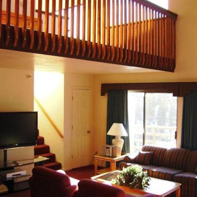 Stairs + loft + living room (Please note rooms may slightly differ from pictures )