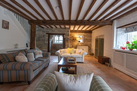 Romantic Somerset - beautiful huge cottage 1 - 4
