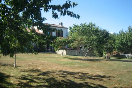 Le Papillon at Le Paradis, near Mansle RN10 - Beaulieu-sur-Sonnette - House