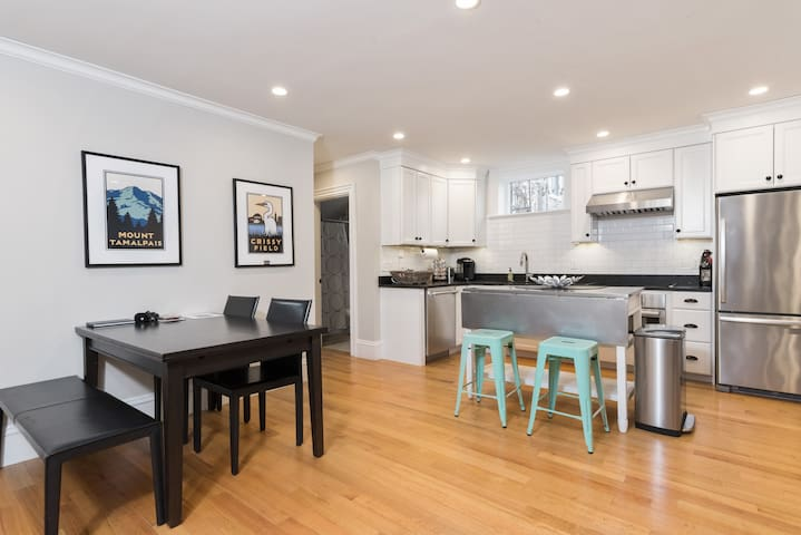 New 2 BR Apartment +Parking by MIT Kendall Harvard