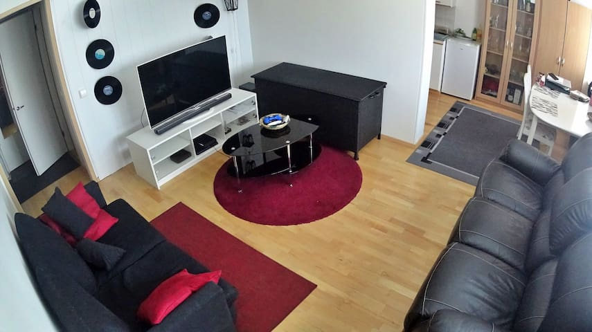 Two-room apartment near the center
