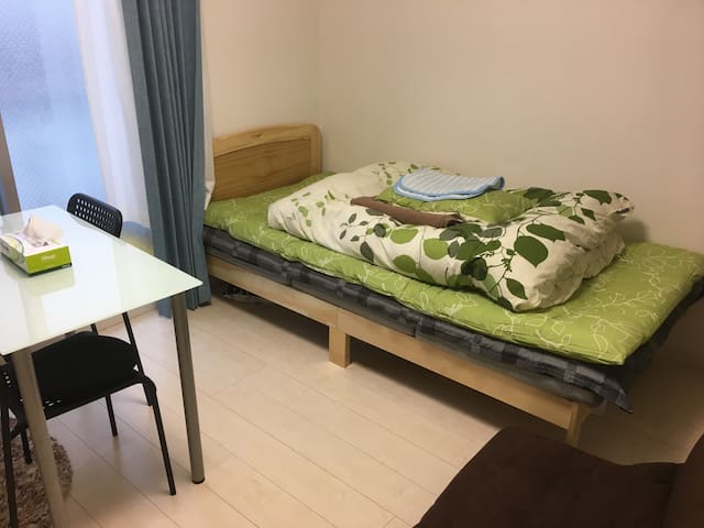 Shonan one room near Keio univ 湘南台東口駅ちか - Fujisawa-shi - Appartement