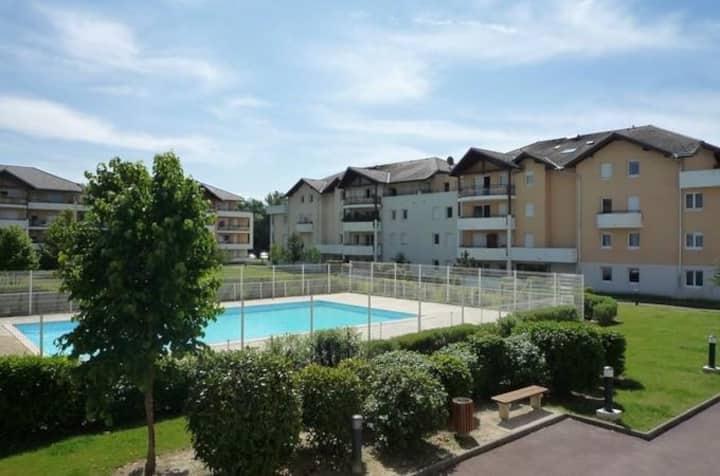 Appartement 2 pièces proche GENEVE