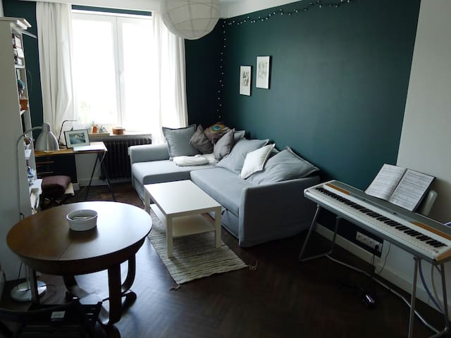 Green apartment in Gdynia
