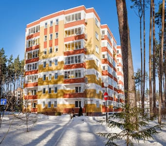 Апартаменты 90м с 2-мя спальнями на курорте Яхонты - Noginsk - Serviced flat