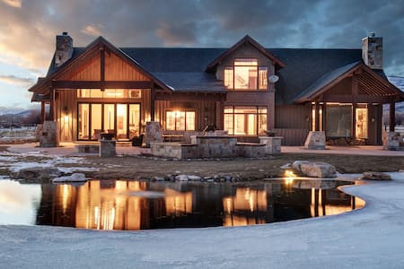 Amazing home situated on an awesome estate!One of a kind ski home!Twilight Ranch - Peoa - Hus