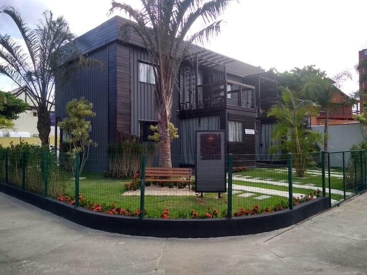 Apartamento Moderno e Urbano em Jurerê