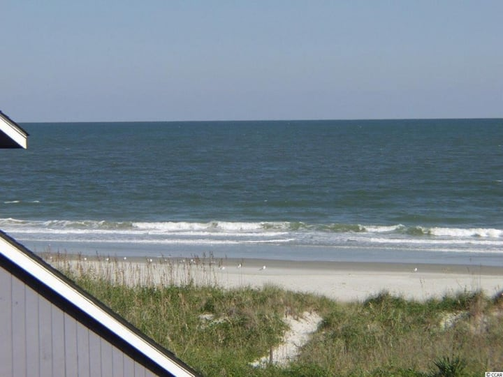 Oceanfront Condo- Beautiful Ocean and Marsh Views