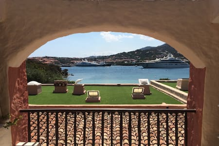 Luxury comfort and sea view in Porto Cervo Marina - Porto Cervo - Lejlighed