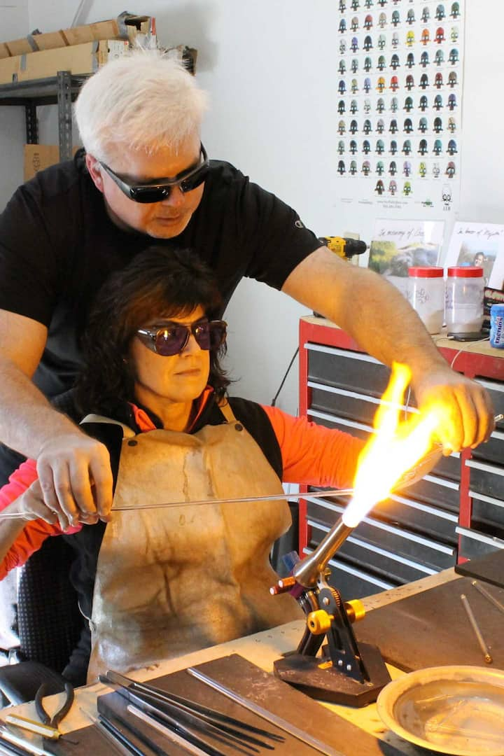 Learn the fundamentals of glassblowing