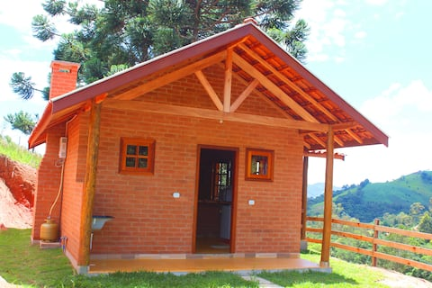 Chalé Vista Bela,localizado na região de Gonçalves