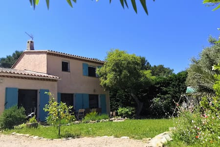 Villa presqu'île de Giens, 4 ch., grand jardin