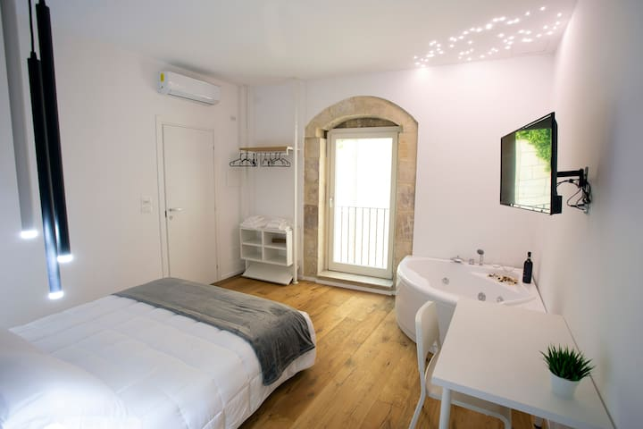 camera con vasca idromassaggio, Ragusa Ibla
