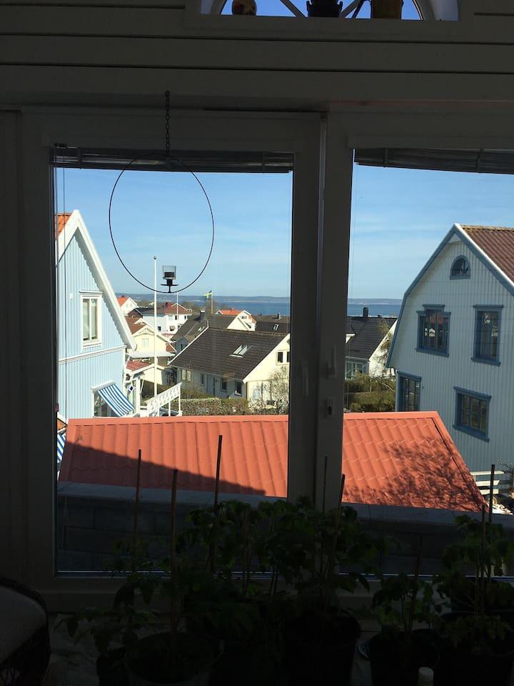 Rymligt Skärgårdshus med havsutsikt
