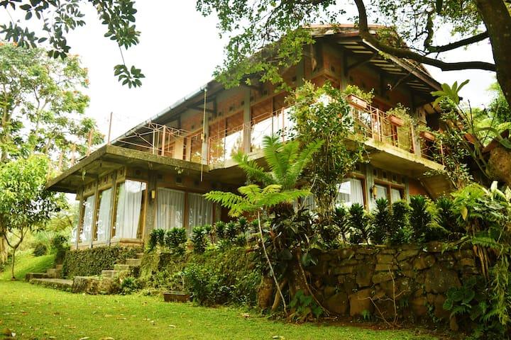 Rumah Kaca / Butterfly Haven / IBEKA Farm - Ciater - Rumah