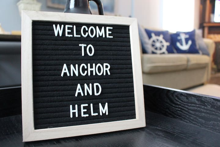 ANCHOR & HELM - Main floor 2 Bedroom Apartment