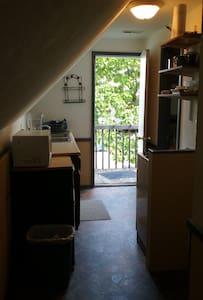 Artsy gabled attic open studio-style suite - Goshen