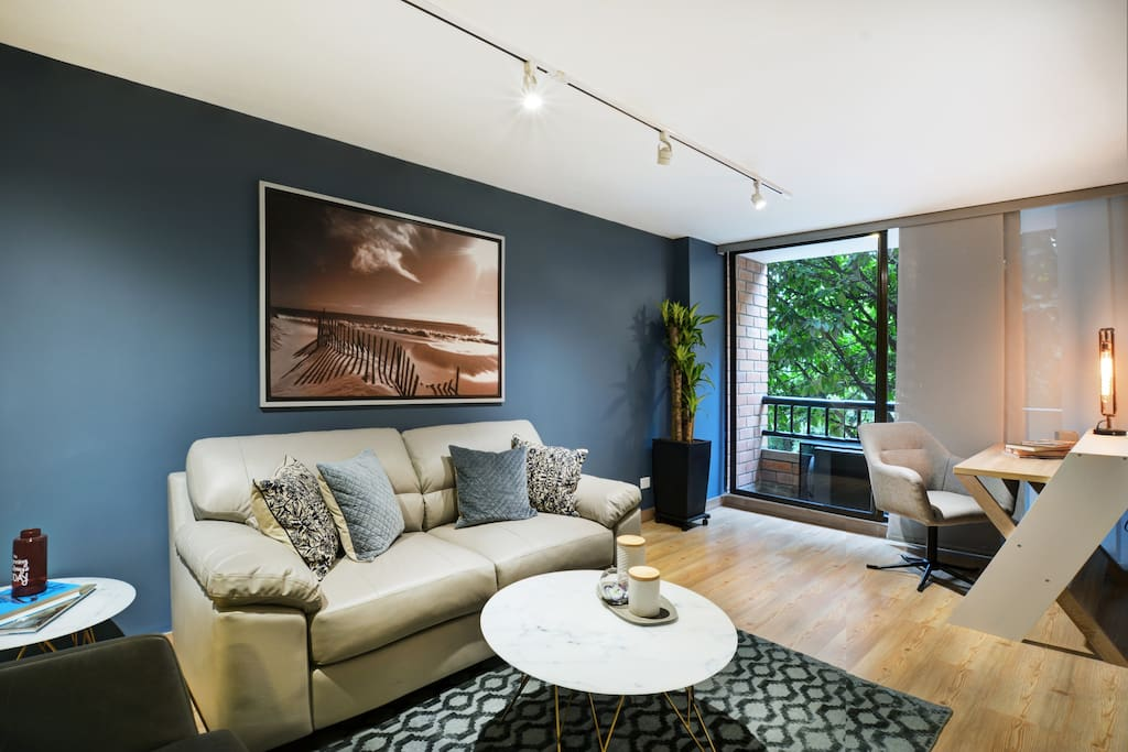Confy  living room