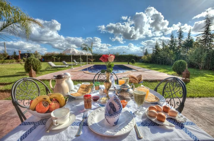 Guesthouse Dar Biona Marrakech - Pool & Jacuzzi