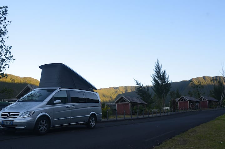 Rent a full campervan 4 beds for your trip