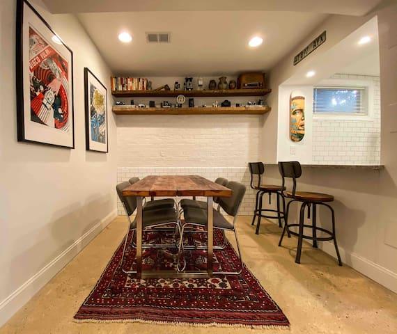 Stylish apartment in a hip neighborhood