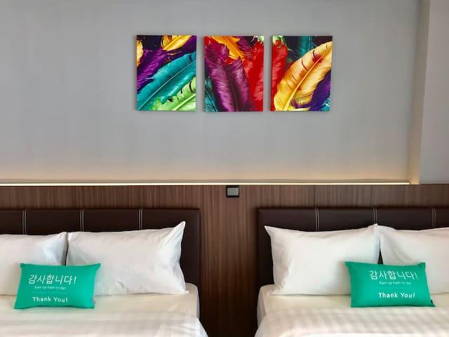 简易风格空中花园公寓 [近机场] (四人) D2 4pax Cozy SkyGarden Suite