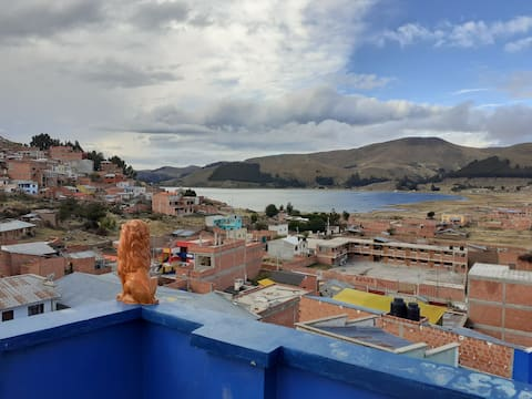Hostel Celeste, Con Vista al lago Titicaca