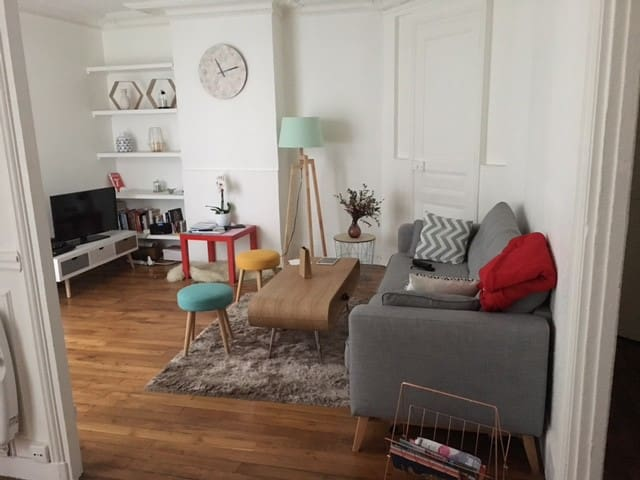 Bel appartement au coeur du 9e arrondissement - París - Departamento