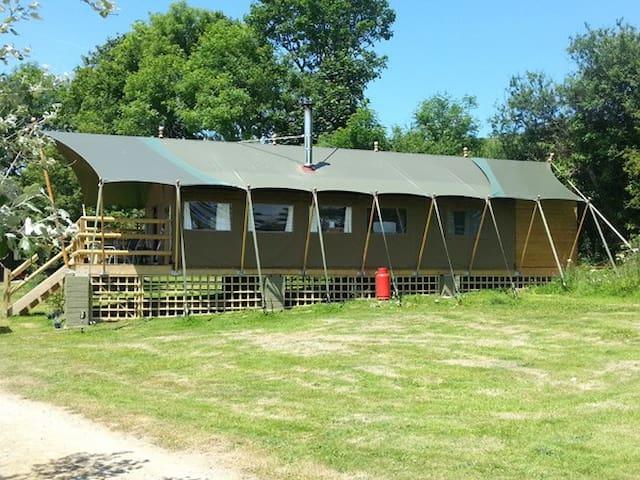 Safari lodge at Coastal Valley Camp and Crafts - Cornwall - Inny