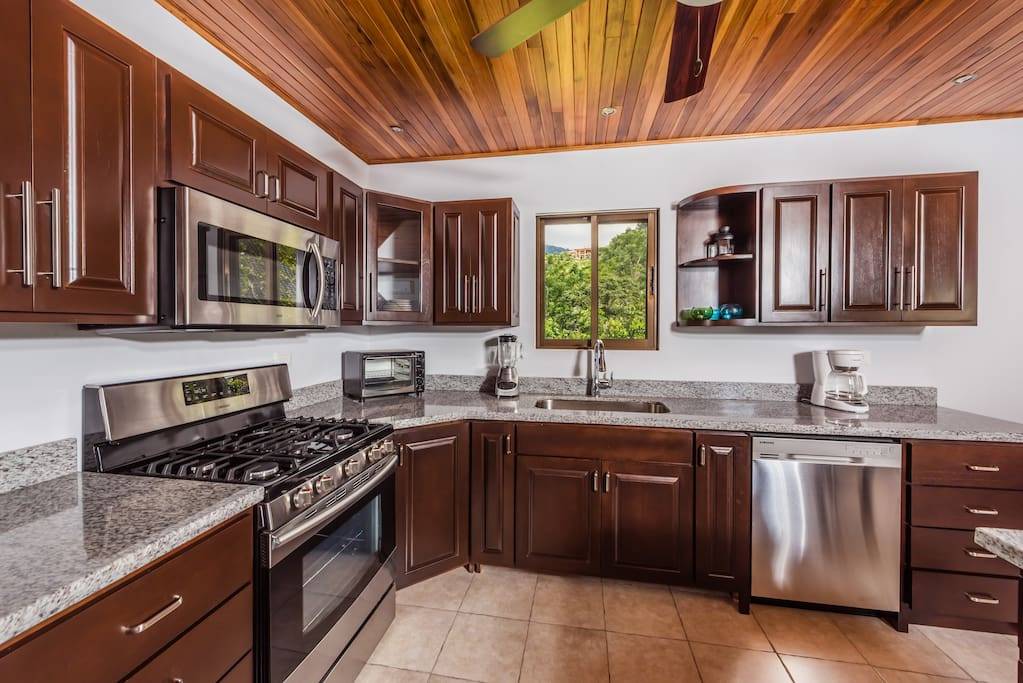 Prepare your favorite meals in the chef's kitchen.
