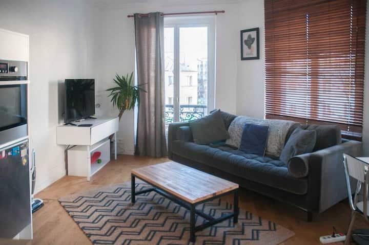 Appartement Lumineux proche des Buttes Chaumont