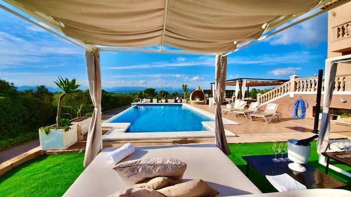 Villa Versace súper lujo 14 huéspedes + invitados.