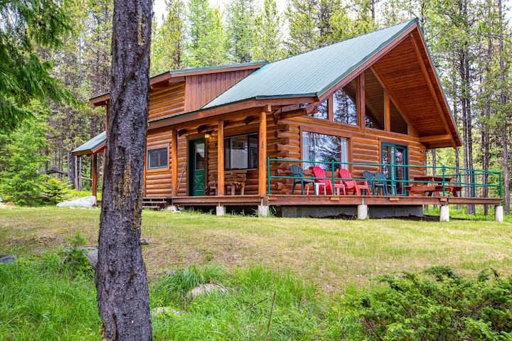 Beargrass Cabin Private, Secluded  Montana Retreat