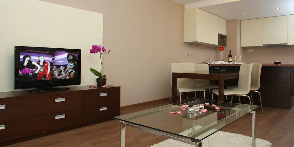 Moderní apartmány Bory pro 6 osob - Pilsen - Apartmen